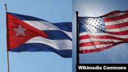 АҚШ пен Кубаның туы.