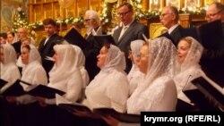 Празднование Рождества в Севастополе