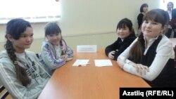 """""""Сыерчык"""" ярышында җиңүче Тугыз кызлары"""
