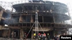 На місці одного з вибухів у Багдаді, 3 липня 2016 року