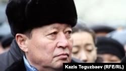 ҰҚК-нің бұрынғы жетекшісі Нартай Дүтбаев. Алматы, 3 қаңтар 2013 жыл.