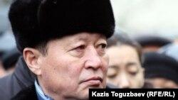 ҰҚК-нің бұрынғы басшысы Нартай Дүтбаев. Алматы, 3 қаңтар, 2013 жыл.