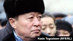 Нартай Дүтбаев, ҰҚК-нің бұрынғы төрағасы. Алматы, 3 қаңтар 2013 жыл.