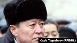 Нартай Дутбаев, бывший председатель КНБ Казахстана. Алматы, 3 января 2013 года.
