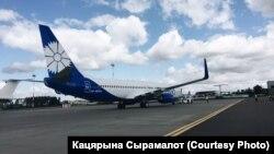 "Самолет компании ""Белавиа"""