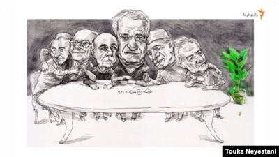 حسن کامشاد و مهمانانش/ کاری از توکا نیستانی