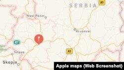 Kosovo je na mapi kompanije Apple predstavljeno kao deo Srbije