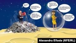 Igor Dodon și Maia Sandu și-au inventat în campanie fiecare lumea lui, departe de lumea alegătorilor