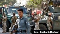 Силовики Афганістану на місці одного з терористичних нападів, Кабул, 31 липня 2017 року