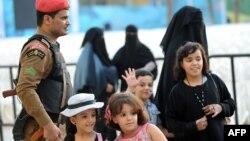 Disa fëmijë në Arabinë Saudite, foto nga arkivi