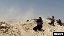 Ирак - Борци против милитантите од ИД.