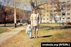 Сьвятлана з сынам Аляксандрам