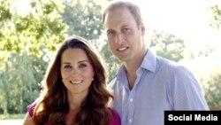 Princi William me bashkëshorten e tij, Dukeshën Catherine