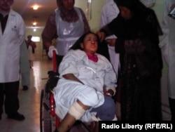 Сахар Гүл абактан чыккандан кийин ооруканада. 28-декабрь 2011
