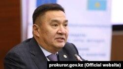 Заместитель генерального прокурора Казахстана Марат Ахметжанов.