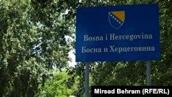Granica između Hrvatske i BiH