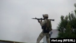 В районе спецоперации у индийского консульства на севере Афганистана. Мазар-и-Шариф, 4 января 2015 года.