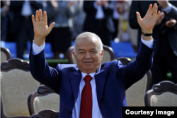 Karimov takes part in Nouruz celebrations in Tashkent on March 21.