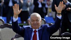 Өзбекстан президенті Ислам Каримов Наурыз мейрамы кезінде. Ташкент, 21 наурыз 2015 жыл.
