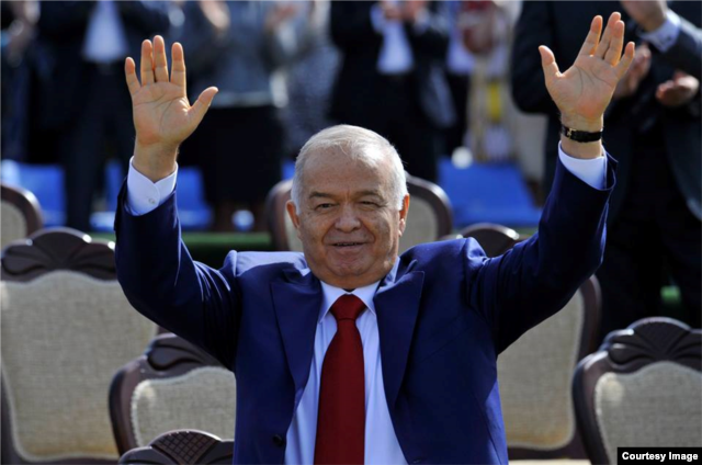 Karimov takes part in Nouruz celebrations in Tashkent on March 21.