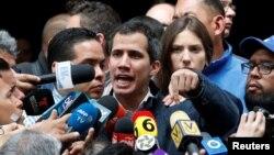 Хуан Гуайдо, Каракас, 27 января 2019 года