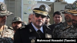 Ali Shamkhani carries the rank of a Rear Admiral. He is the secretary of the Supreme National Security Council of Iran.