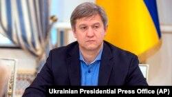 Former Ukrainian national-security chief Oleksandr Danylyuk (file photo)