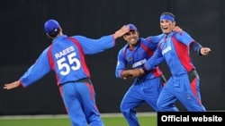 Afghanistan-- Afghan cricket team won the supper 4 UAE championship, 14February 2010