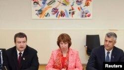Parafiranje sporazuma Kosova i Srbije u Briselu, 19.4.2013.