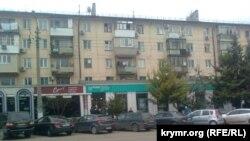 Фотографія вулиці в Севастополі, 28 листопада 2015 року