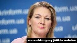 Марія Іонова, новобраний народний депутат України («Європейська солідарність»
