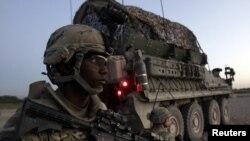 Pjesëtarë të ushtrisë amerikane në Afganistan
