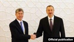 Президенты Кыргызстана и Азербайджана