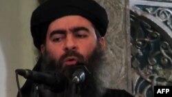 Лидер террористической группировки «Исламское государство» Абу Бакр аль-Багдади
