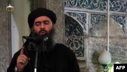 Islamic State leader Abu Bakr al-Baghdadi (file photo)