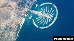 Palm Jumeirah қонақ үйі. Дубай. Біріккен Араб әмірлігі.