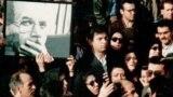 تشییع جنازه محمد مختاری در تهران در آذر ۷۷