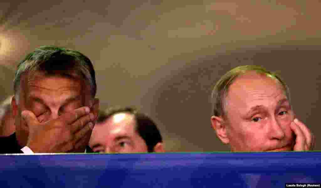 УНГАРИЈА / РУСИЈА - Унгарија и Русија потпишаа неколку важни економски, социјални и безбедносни договори за време на посетата на рускиот претседател Владимир Путин на Будимпешта, соопшти унгарското Министерство за надворешни работи.
