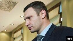 УДАР партиясының жетекшісі Виталий Кличко. Киев, 28 ақпан 2014 жыл.