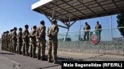 Ushtarë gjeorgjianë, foto nga arkivi