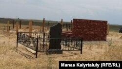 Спецкладбище для умерших от коронавируса под Алматы, 16 июня 2020 года.
