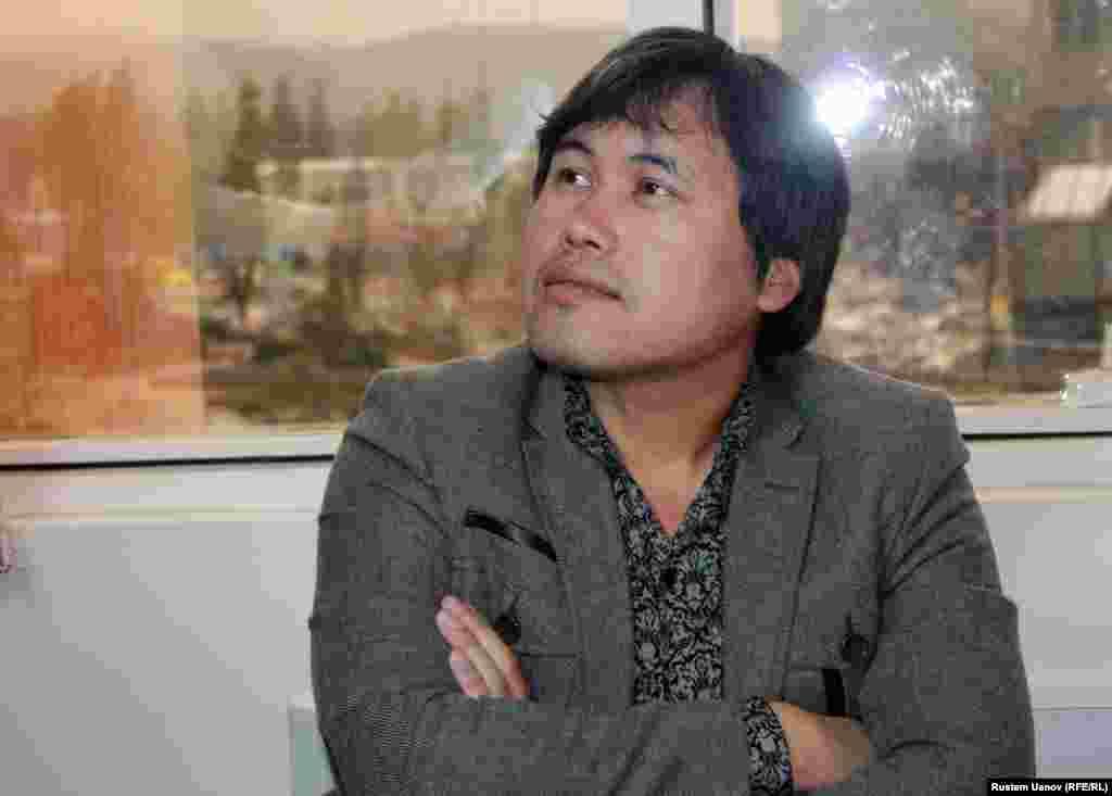 Кинорежиссер Данияр Саламат. Алматы, 17 апреля 2013 года.