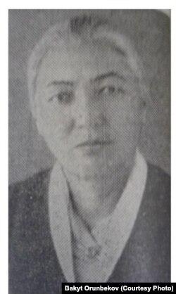 (Батмакан Аалиева, 1960-жылдар).