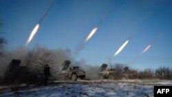 Військова техніка проросійських сепаратистів біля Горлівки Донецької області, ілюстраційне фото
