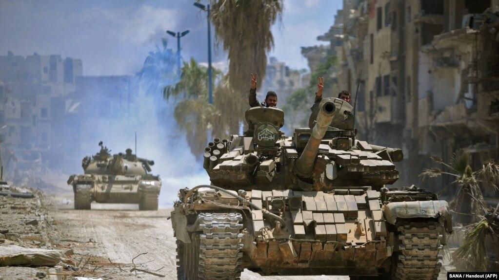 ارتش سوریه آخرین منطقه تحت کنترل شورشیان در اطراف دمشق را تصرف کرد