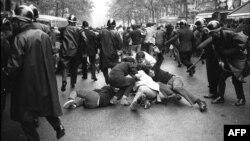 Ֆրանսիա - Սորբոնի համալսարանի ուսանողների և ոստիկանների ընդհարումը, Փարիզ, 16-ը հունիսի, 1968թ․