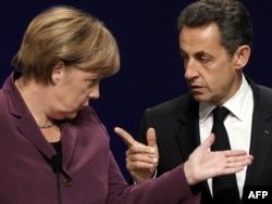 Ангела Меркель жана Николя Саркози. Канн, 2-ноябрь 2011