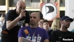 Конференция Pirate Parties International в Праге в апреле 2012 г.