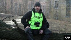 Корреспондент новостного агентства Андрей Стенин в Киеве