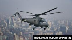 Обука на рускиот хеликоптер МИ 35 во Ниш, јануари 2020